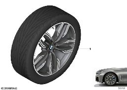 BMW LA WHEEL M DOUBLE SPOKE 760M - 20