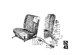 FITTING F RECLINING FRONT SEAT
