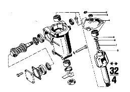 STEERING BOX SINGLE COMPONENTS