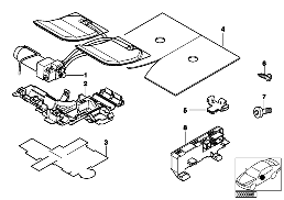 SEAT, FRONT, ACTIVE SEAT SINGLE PARTS